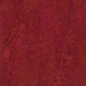 Линолеум натуральный Forbo Marmoleum Real Red Amaranth 3228 2 мм 2х32 м